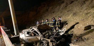 Accidente M-50 jóvenes