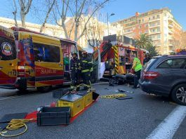 fallecido accidente chamberí