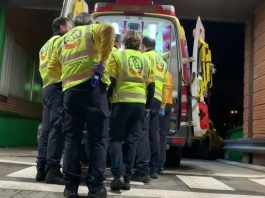 Herido grave por agresión con arma blanca en Ciudad Lineal