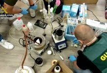 Laboratorio drogas Usera