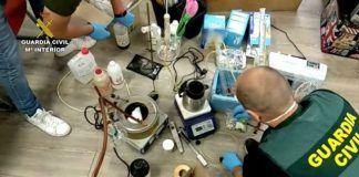 Laboratorio drogas Usera