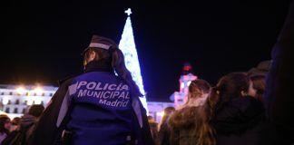 Policía venta ilegal Navidad