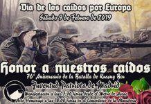Desfile neonazi La Almudena