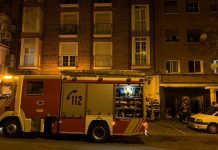 bomberos incendio Carabanchel