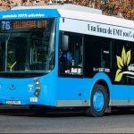 EMT 50 autobuses eléctricos