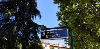 placa Jardín Feministas