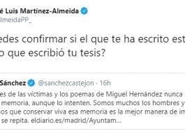 Sánchez Almeida memorial Almudena