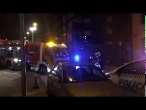 Accidente de tráfico en Vicálvaro