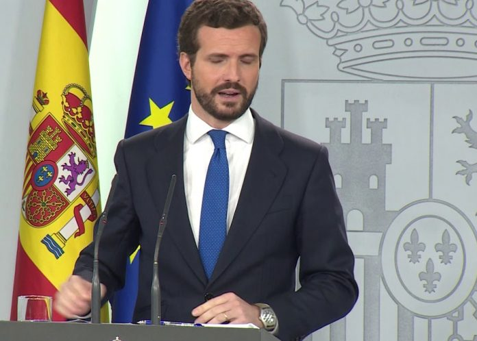 Casado Sánchez mesa independentistas