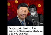 el Coronavirus sin control