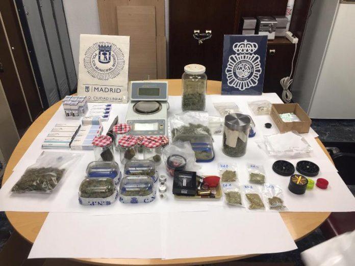 asociación cannabis drogas