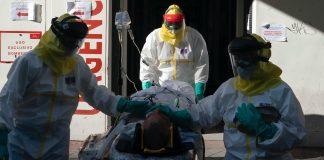 112 fallecidos Madrid coronavirus