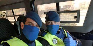 174 Policía coronavirus