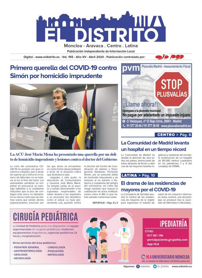 PORTADA MONCLOA ABRIL 2020