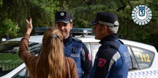Policía aglomeraciones