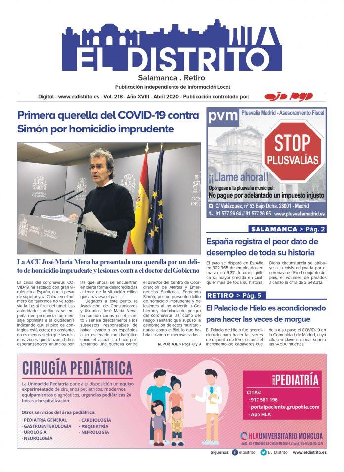SALAMANCA ABRIL 2020 PORTADA