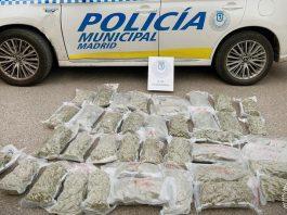 marihuana vehículo Las Tablas