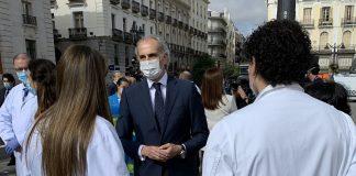84% hospitalizaciones Madrid desescalada