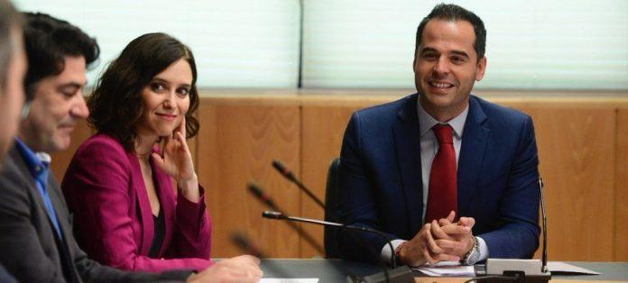 Aguado pactado PSOE Ayuso