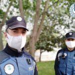 Policia Municipal, fiestas, coronavirus