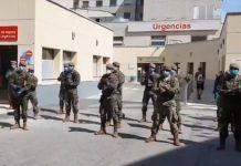 Ejército carpa Gregorio Marañón