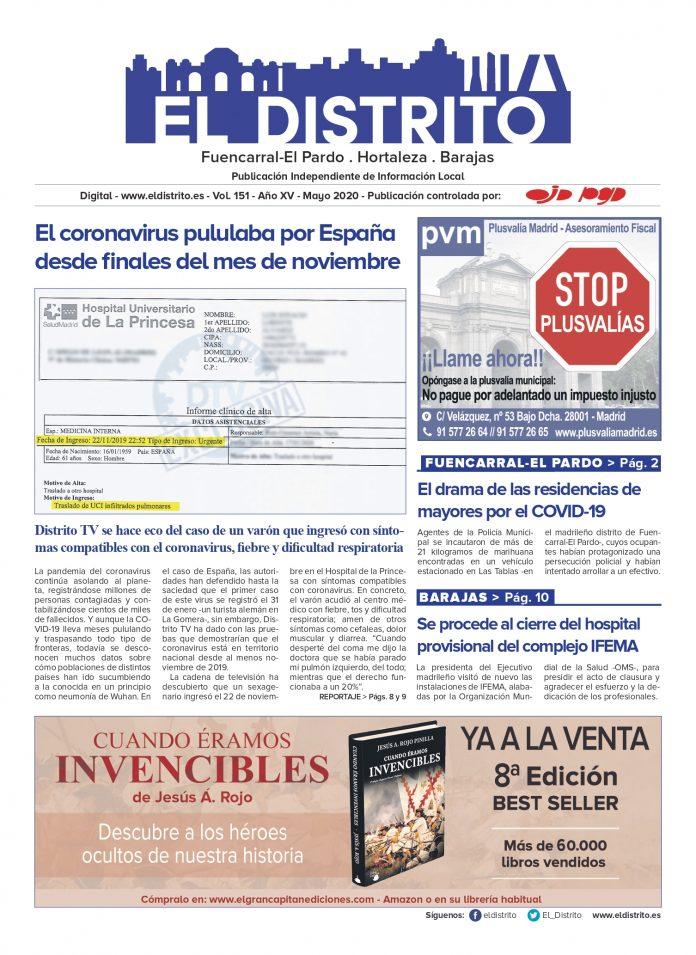 PORTADA FUENCARRAL MAYO 2020