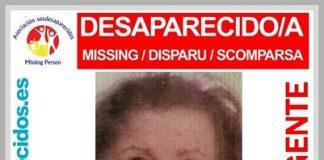Desaparece una mujer de 92 años en Moratalaz