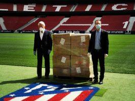 Mascarillas Atlético de Madrid