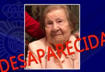 Anciana desaparecida