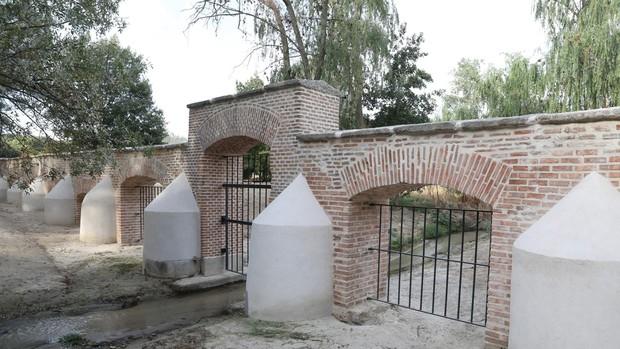 Casa de Campo ya tiene su muro histórico restaurado