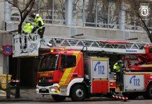 Contienen fuga de gas propileno de un tren cisterna en Vicálvaro