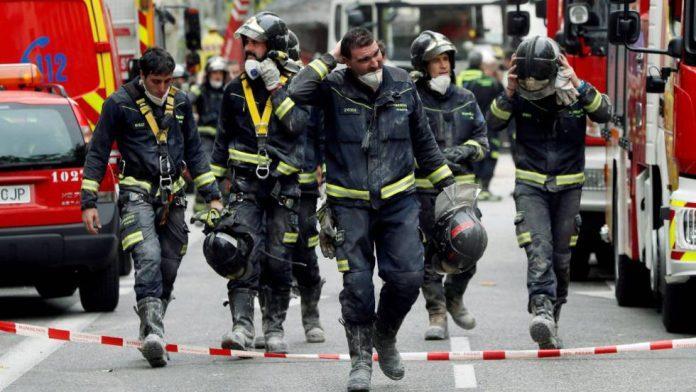 Bomberos apagaron incendio en una vivienda vacía de Chamberí