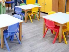 La futura escuela infantil municipal de Villaverde, en la calle Parque Ingenieros, será la primera que tendrá pintura 'anticovid' en su interior
