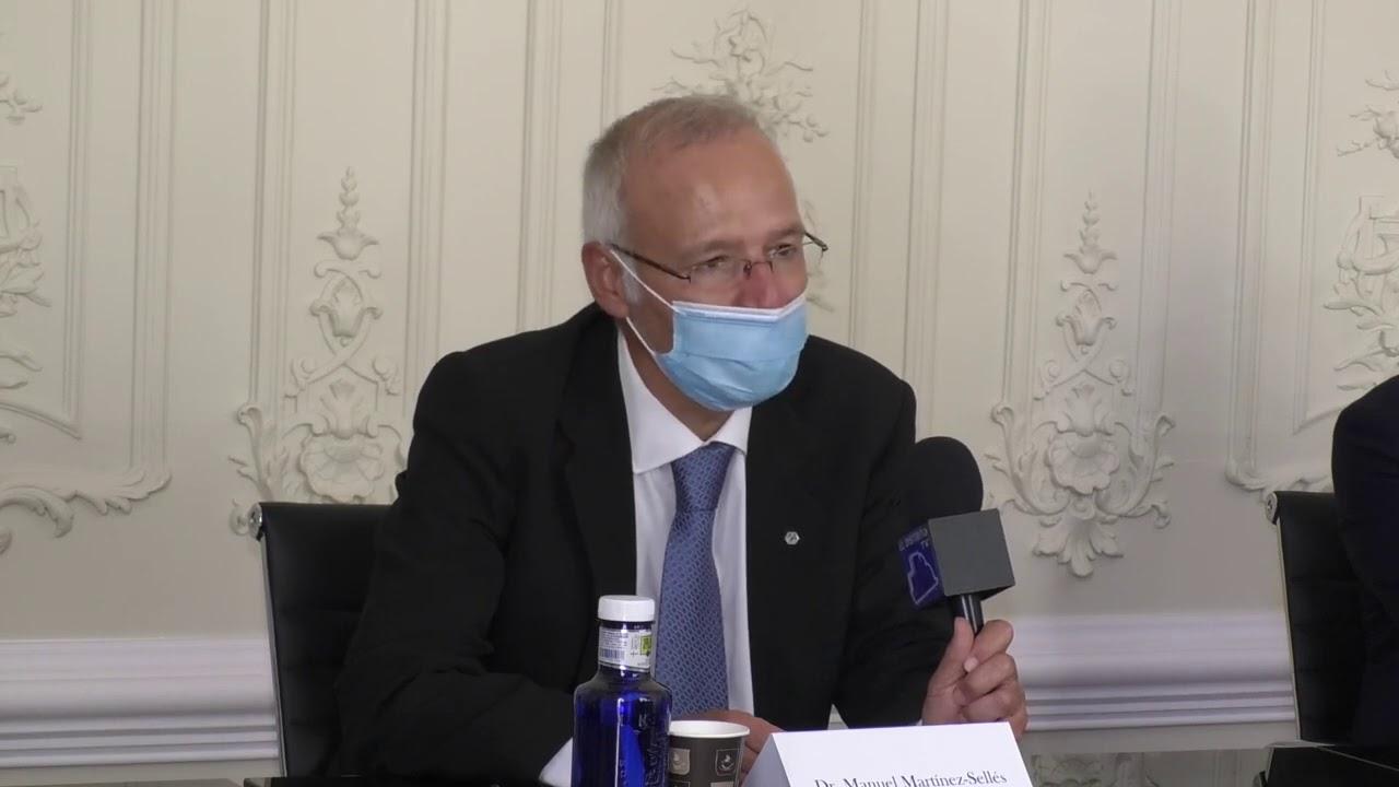 """Martínez-Sellés arremete contra Sánchez Chillón: """"Es evidente que se ha politizado la actuación del Colegio de Médicos de Madrid"""""""