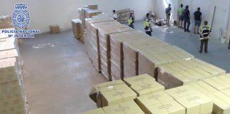 Detenidas cinco personas por el robo de más de tres millones de productos sanitarios en Leganés
