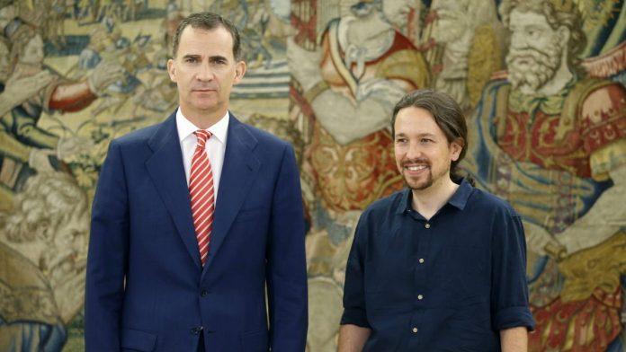 El Rey Felipe, harto de Podemos y de los ataques de Pablo Iglesias contra su hija Leonor