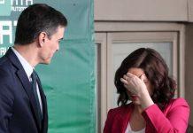 El estado de alarma será el tema principal en la reunión entre Sánchez y Ayuso