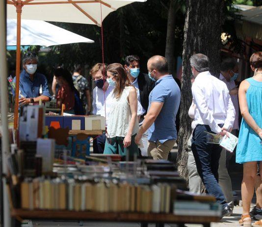 Libreros de la Cuesta de Moyano no pagarán el canon municipal este año