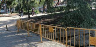 El PSOE exige más mantenimiento, limpieza y vigilancia en el Parque Aluche