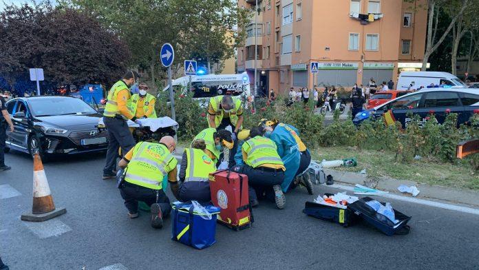 En estado de gravedad niño de 11 años atropellado en Hortaleza