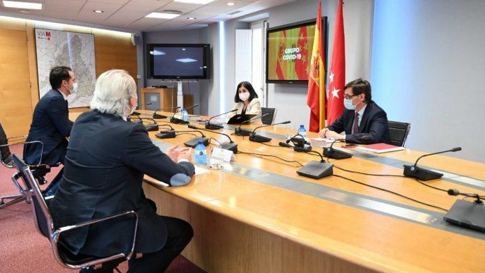 Gobierno central y Comunidad de Madrid se reúnen este martes en el Grupo Covid-19