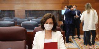 """Ayuso: """"Sánchez intenta asfixiar políticamente a Madrid con todo el poder que le da el Estado"""""""