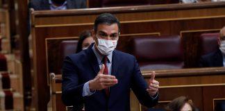 Sánchez ofrece ahora que el estado de alarma dure cuatro meses y sea revisado en marzo