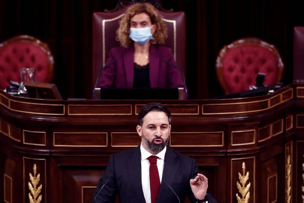Tras más de 11 horas de debate, finaliza la primera jornada de la moción de censura de Abascal