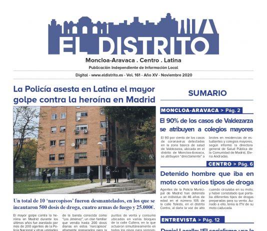El Distrito de Moncloa-Aravaca, Centro y Latina