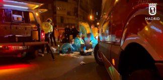 Un herido grave y uno leve al ser apuñalados en Villaverde