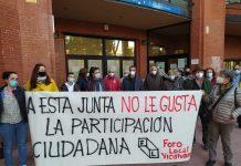 """Foro Local de Vicálvaro denuncia que la participación vecinal en el distrito está """"a desguace"""""""