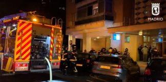 Voraz incendio en Ciudad Lineal deja saldo de una mujer fallecida y otra levemente herida