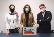 """Ayuso desde Barcelona: """"La ley Celaá no solo es un problema lingüístico, también ataca derechos civiles"""""""