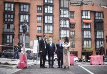Ribera del Calderón, la zona residencial de 1.312 viviendas que se construye sobre el antiguo estadio del Atleti